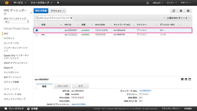 default-vpc-001
