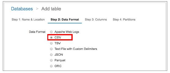 select_dataformat