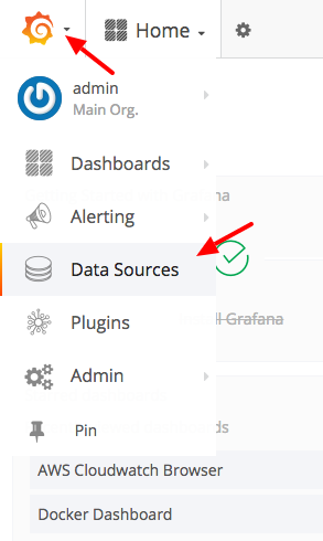 Grafana Home