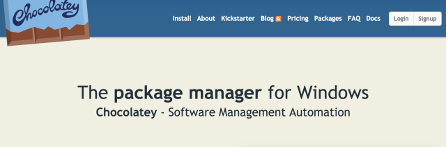 Chocolatey_-_The_package_manager_for_Windows