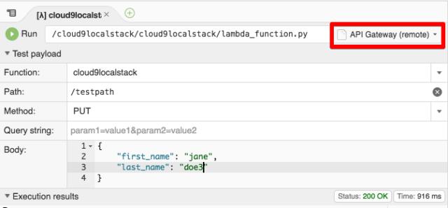 Cloud9のローカルテストでLocalStackを使えるようにする #reinvent