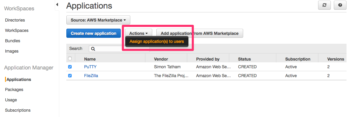 workspaces利用者必見 amazon workspaces application managerを使っ