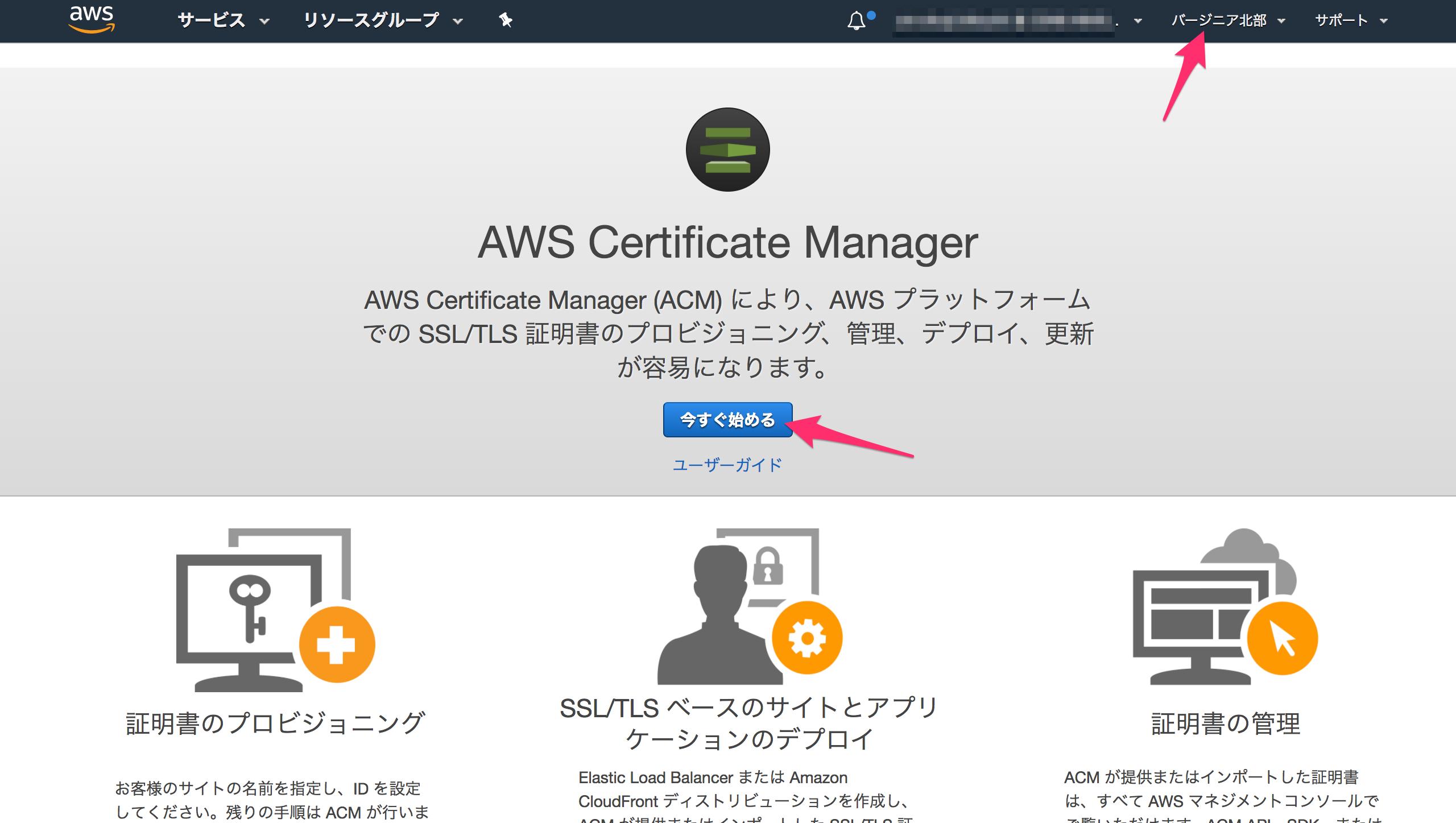 CloudFront で S3 静的ウェブサイトホスティングを SSL/TLS に