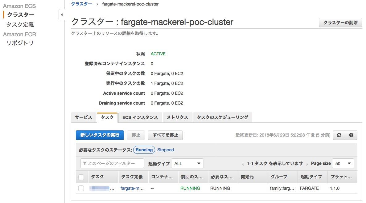 AWS Fargateを使ってサーバレスでCloudFrontをMackerel監視する