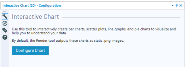 alteryx2018 3新機能 interactive chartツールでグラフ作成がより便利に