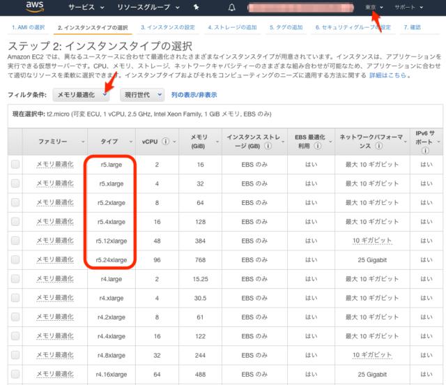 東京リージョンでNITRO世代のインスタンス、メモリ最適化「R5