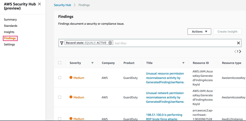 速報]セキュリティ情報を一括で管理できるAWS Security Hubが発表された