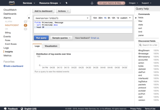 CLOUDWATCH LOGS INSIGHTS GROUP BY - CloudWatch Insights