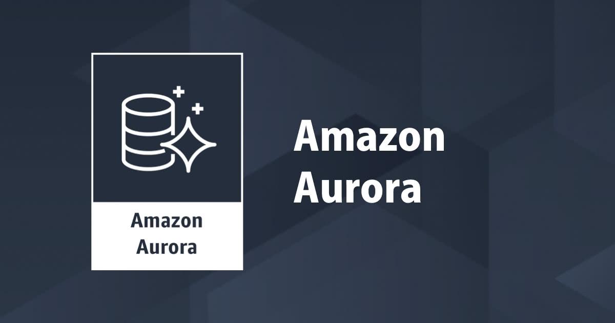 Amazon Aurora ServerlessでHTTPSエンドポイントができ本当に