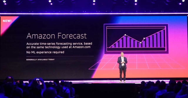 速報 時系列予測サービスamazon forecastが発表されました reinvent