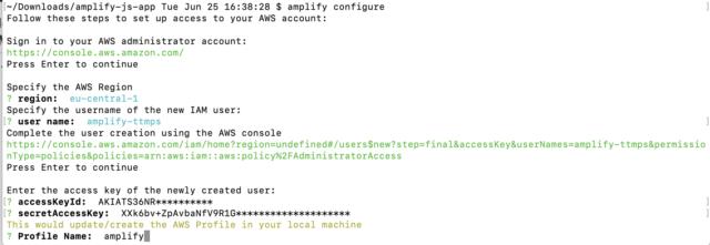 AWS Amplify CLI をチュートリアルで試してみた   DevelopersIO