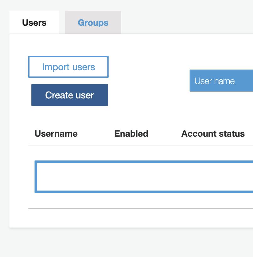 appsync-cognito-create-user