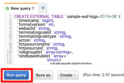 S3に保存した AWS WAFログを Athenaで分析してみる   DevelopersIO