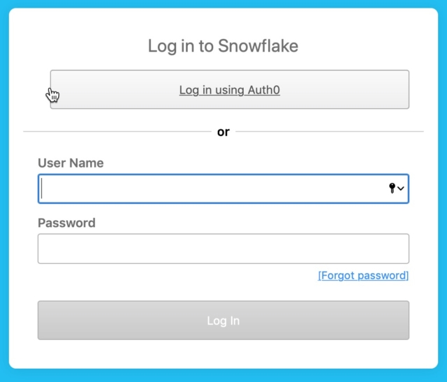 snowflake-login-page-with-sso-button