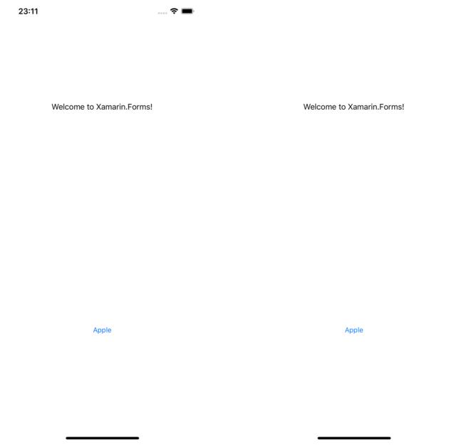 対応前(iOS)の様子