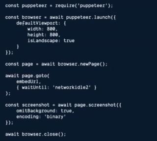 puppeteer code v1
