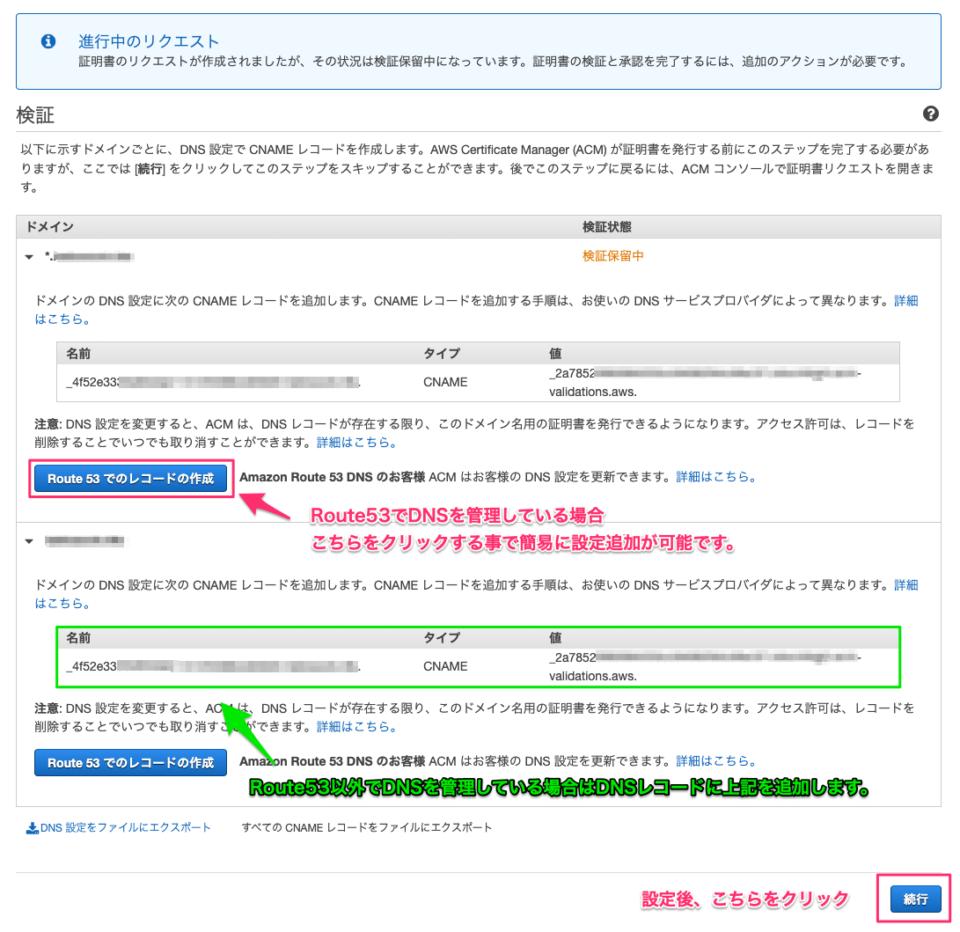 SSL発行手続き4