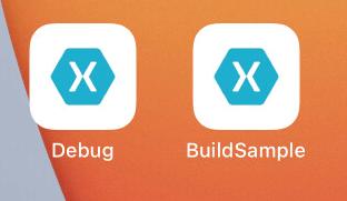 Debug用とRelease用のアプリ