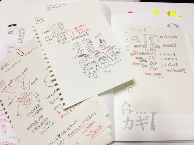 一次試験の勉強ノート
