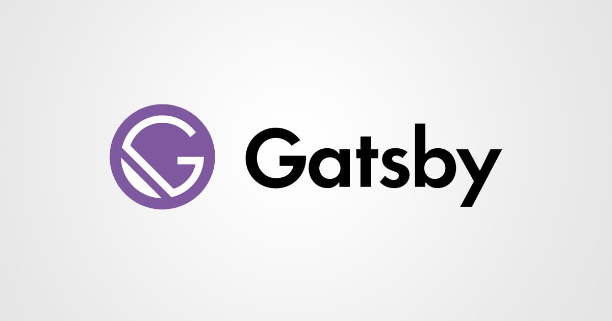 Gatsby.js logo thumbnail