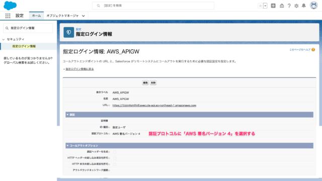 Amazon_API_Gateway用 指定ログイン情報