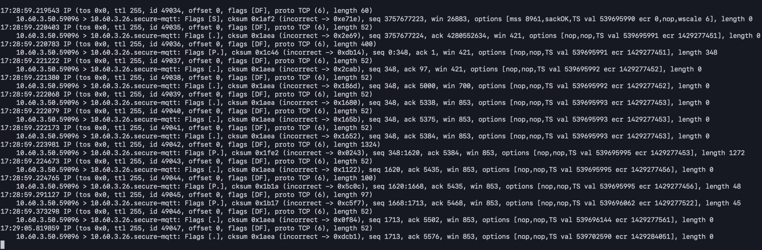 02-iot-core-vpc-endpoint-subscribe-tcpdump