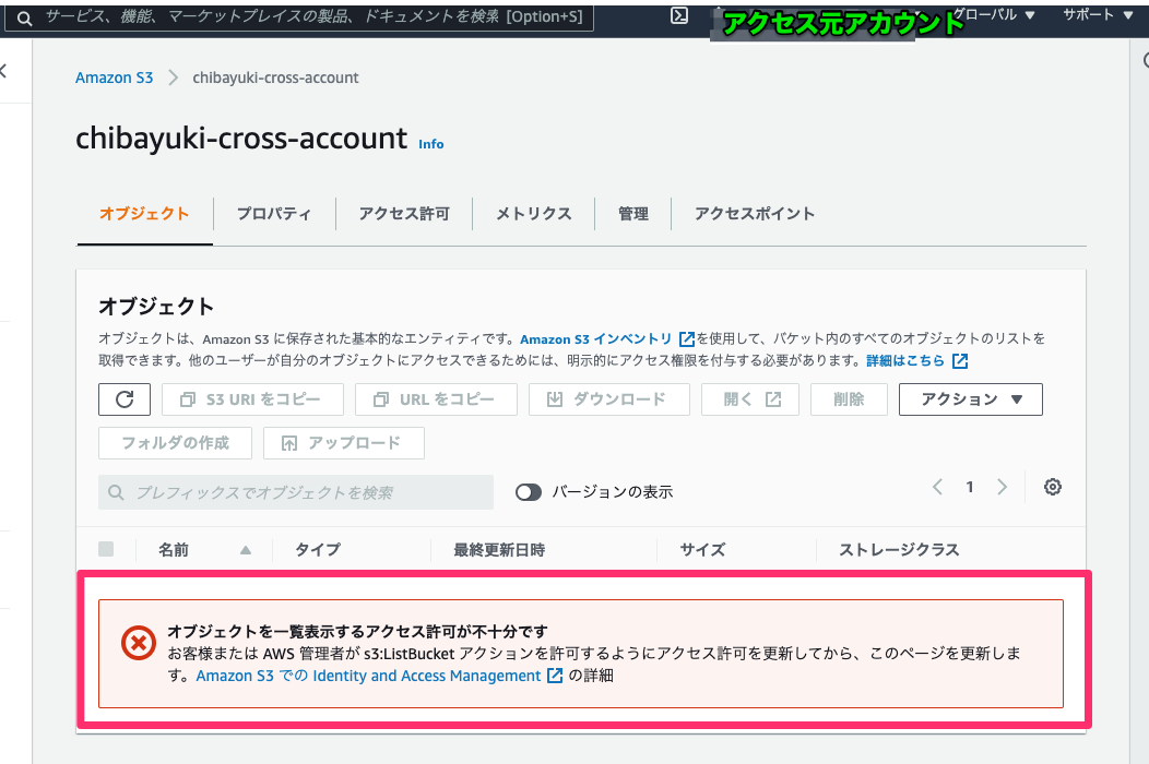 s3cross-account