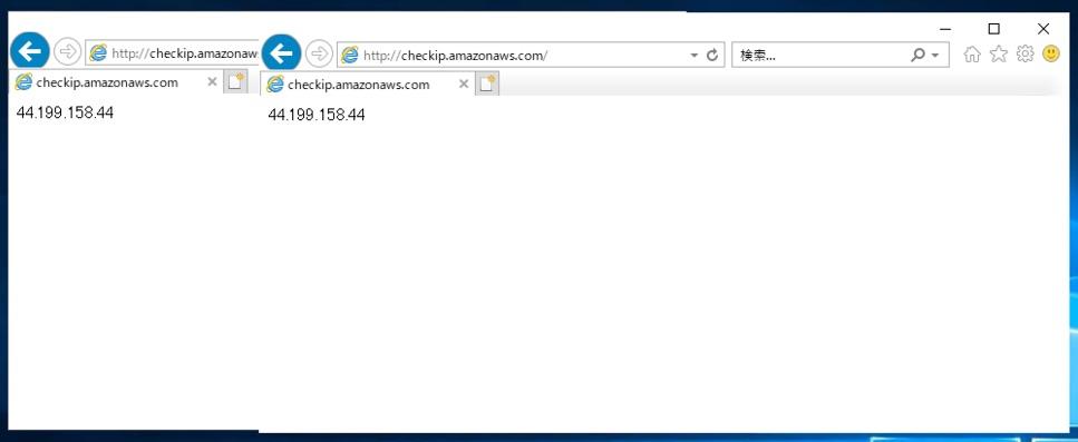 認証プロキシサーバー再起動後のアクセス